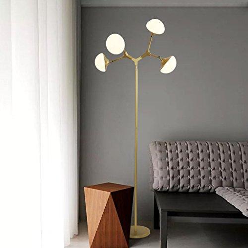 Staande lamp, woonkamerlamp, salontafel, leeslamp, G4, parels, bol, slaapkamer, bedlampje, LED