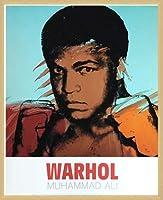 ポスター アンディ ウォーホル モハメド アリ 1977 額装品 ウッドベーシックフレーム(ナチュラル)