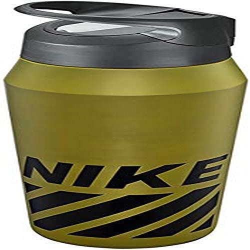 Nike SS HYPERCHARGE - Botella de pajita con gráficos (24 oz) - N.OB.G0.350.24, 24OZ, OLIVE FLAK/GRIS FRÍO/NEGRO