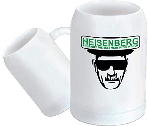 Shirtstown Taza de Café, Taza, Pott, Heisenberg Probaly The Meth IN The World -...
