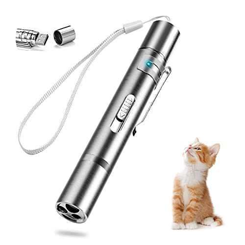 Pet Cat Toys, Laser Pointer, Indoor Sports Cat Toys, Red Laser Interactive Cat Toys