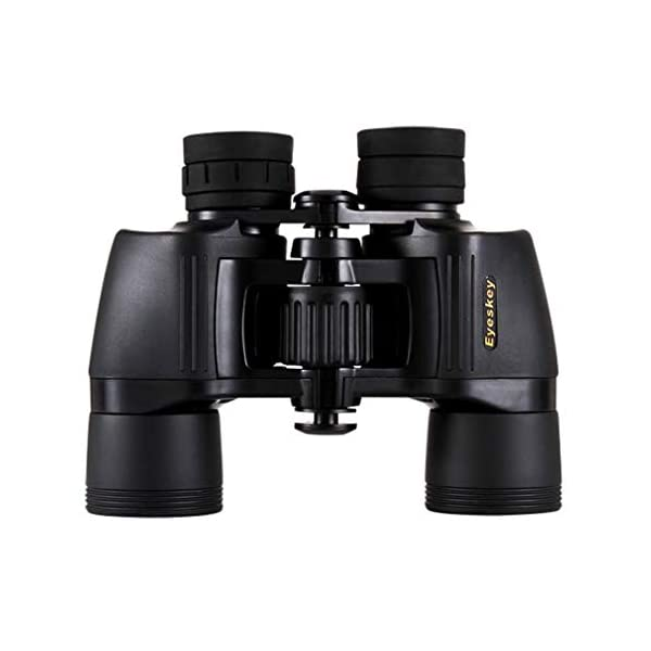 MYYINGBIN Mini 8x40 Binoculars for Adults,with Low Light Night Vision Large Eyepiece Quick Focus Waterproof Wide Angle Compact-Binoculars-for Bird Watching,Concerts Travel, Black