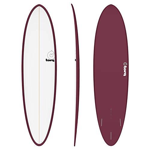 Torq Tabla de Surf Epoxy Tet 7.2 Funboard White Burgun