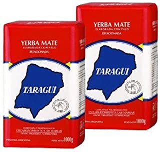 Taragui Yerba Mate Con Palo 2.2lbs 2pack