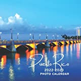 Puerto Rico 2022-2023 Photo Calendar: A Cute Nature Country Office Desk Mini 18 Months 2022 | 2023 Monthly Yearly Planner