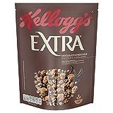 Kellogg's Granola Extra Chocolate - Crujientes granolas de avena con chocolate y avellanas - Cereales - Paquete 375 g