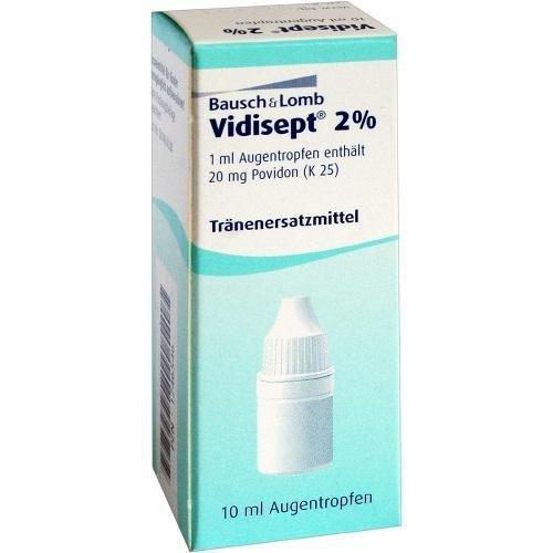 Vidisept 2 % Augentropfen, 10 ml