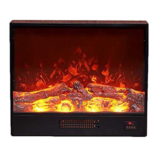 Un calentadorUn ventilador de calefacción Calentador eléctrico con realista efecto de la llama de control remoto protección de sobrecalentamiento Operación Muro Mountabl incorporado fireplace700x180x5