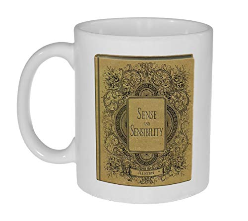 N\A Taza Jane Austen Novels - Sentido y sensibilidad - Taza para los Amantes de la Novela Jane Austen