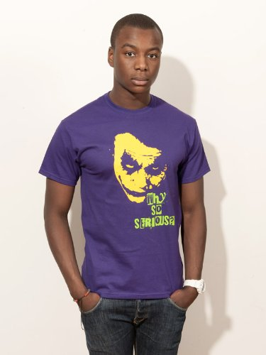 BIGTIME.de T-Shirt Heath Ledger Batman Joker Filmshirt E51 - Gr. L