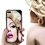Daewon iPhone Mirror Case Bright Reflection Luxury Clear Back Anti-Scratch Shock-Absorption Case with Soft Silicone Bumper TPU Frame +1pcs Tempered Glass Screen Protector (iPhone 7 Plus/8 Plus)