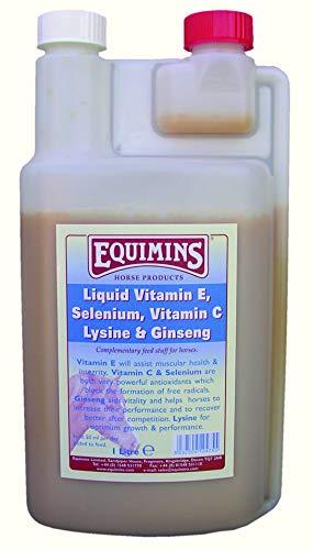 Trilanco Unisex's Equimins Vitamin E And Selenium Liquid, Clear, 1.5 kg