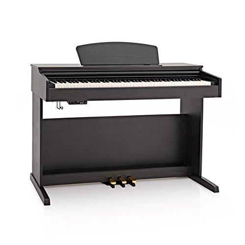 DP-10X Digital Piano by Gear4music, Matte Black