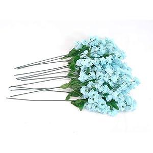12 Sprays Baby Breath Gypsophila Filler Artificial Silk Flowers 15″ Stem 331
