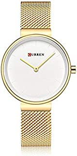 Curren Casual Watch For Women Analog Stainless Steel - 9016