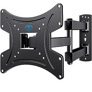 Universelle TV Halterung - Diese TV Wandhalterung ist geeignet für die meisten 13- 42 Zoll Flach&Curved Fernseher🔸bis zu 35kg 🔸. Kompatible VESA 75x75/100X100/200x100/200x200mm. Bitte überprüfen Sie die Größe, das Gewicht und den VESA Ihres Fernsehrs...