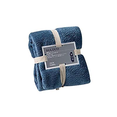 ERIUAES Ultra Thick  Soft Cotton Hand Towel - M...
