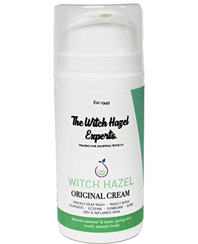 The Witch Hazel Experts | Distilled Witch Hazel & Zinc Oxide Antiseptic Cream for Rashes & Spots 100g