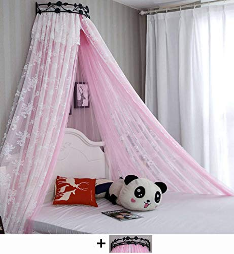 Fantastic Prices! Bed Canopy Princess Bed Canopy,Round Dome Openings Netting Bed Curtain Bed Drapes ...