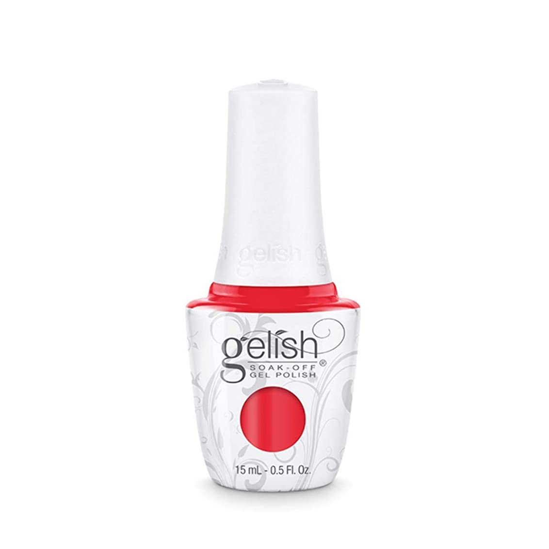 ホップ強化するブレーキHarmony Gelish Gel Polish - Tiger Blossom - 0.5oz / 15ml