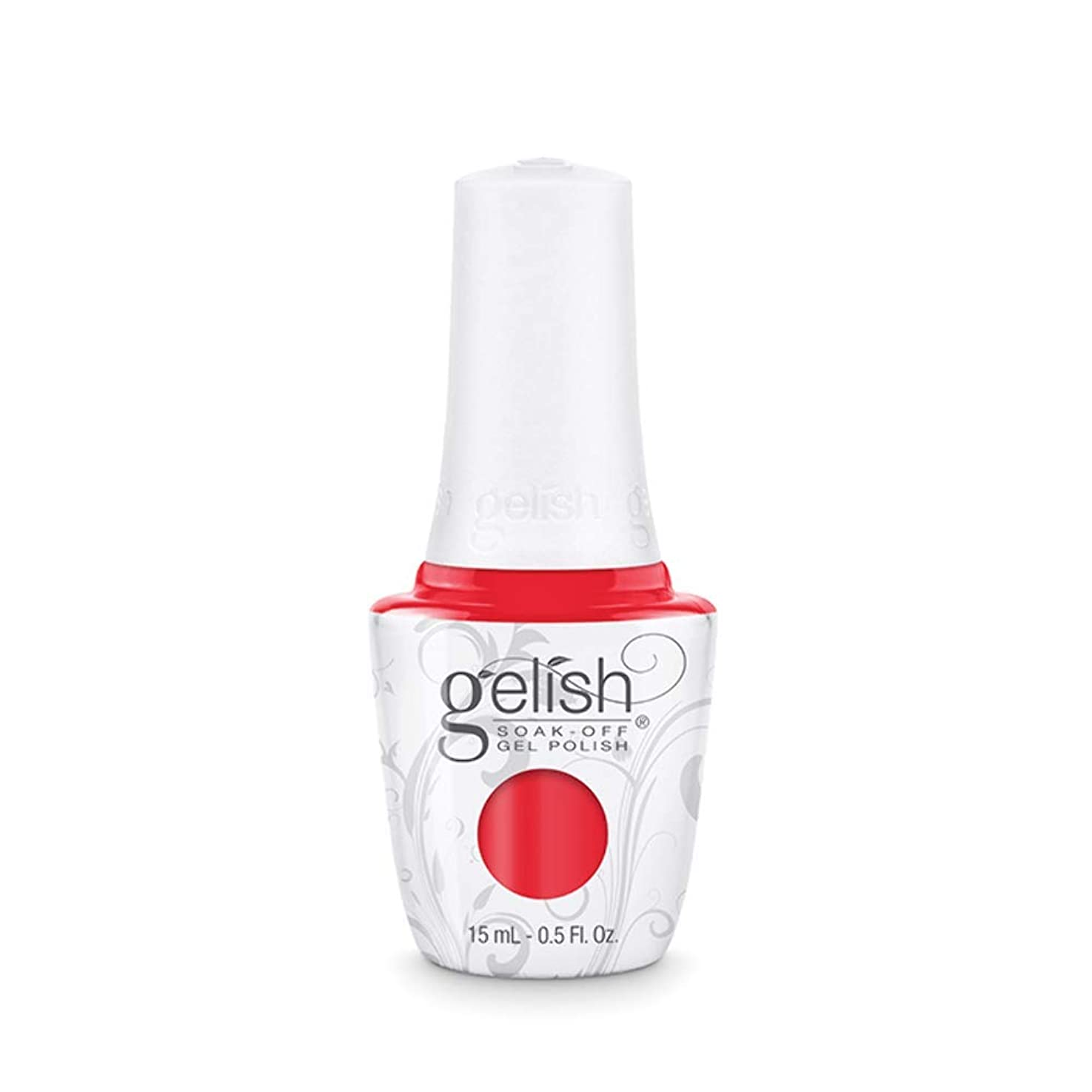 デコードする無臭ファイナンスHarmony Gelish Gel Polish - Tiger Blossom - 0.5oz / 15ml