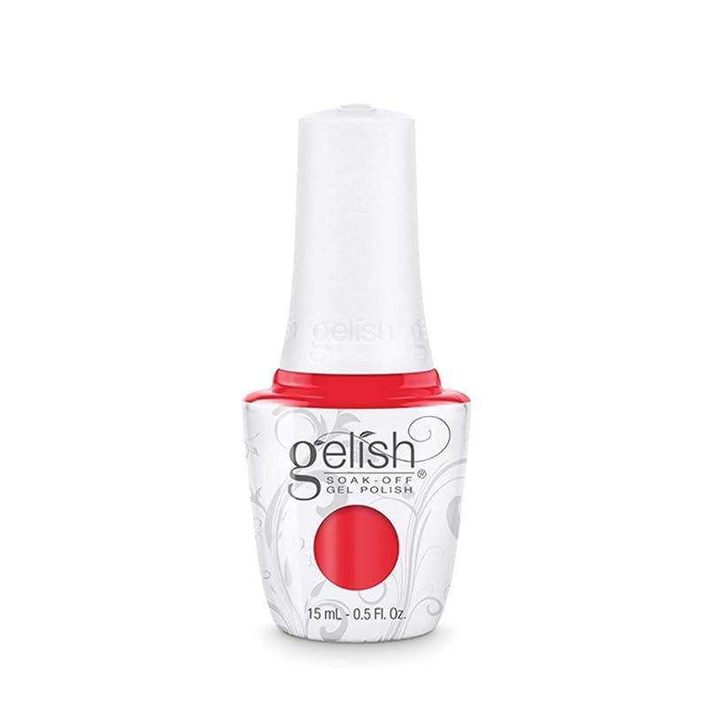 ライオン廃止虚栄心Harmony Gelish Gel Polish - Tiger Blossom - 0.5oz / 15ml