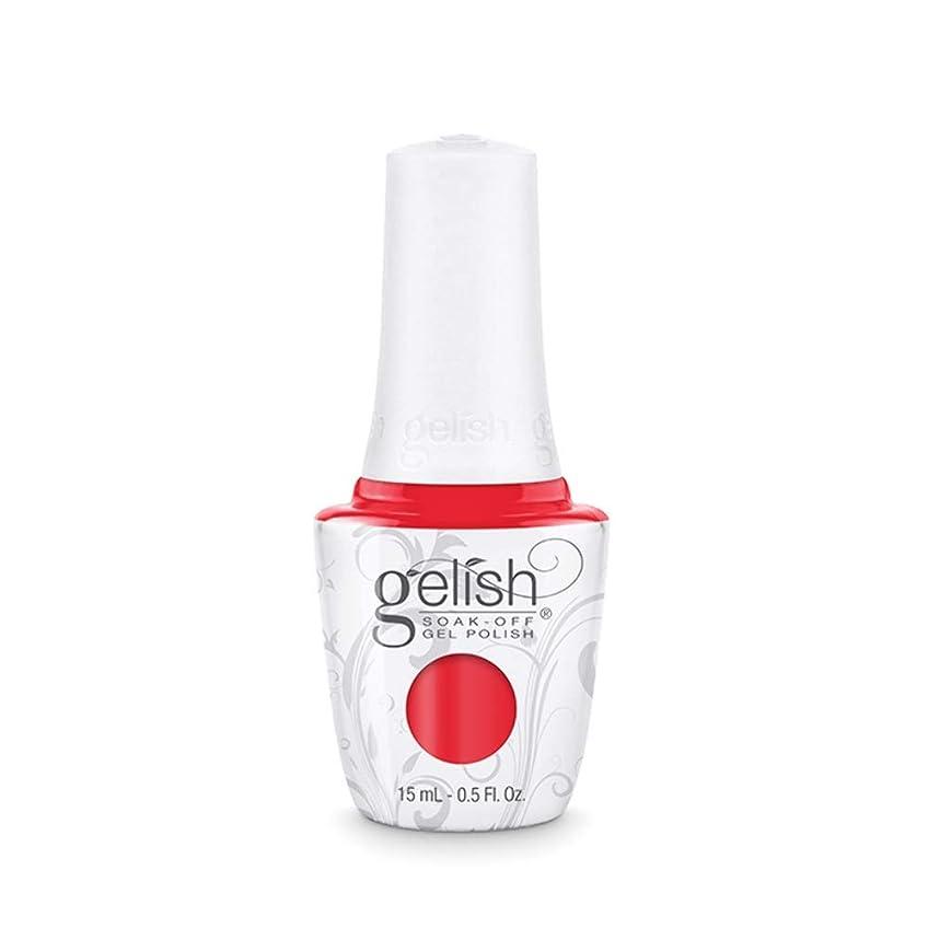 暖かく増幅行くHarmony Gelish Gel Polish - Tiger Blossom - 0.5oz / 15ml