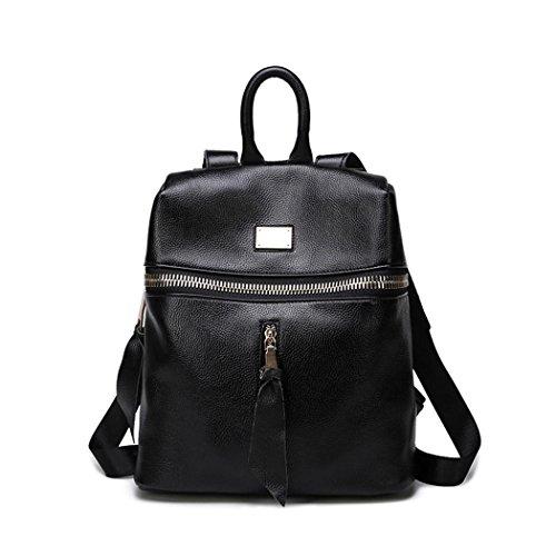 Petit sac à dos en cuir pour dames voyage d'achats de la mode sac à dos léger pour quatre saisons de l'ensemble