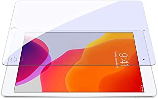 شاشة حماية لاصقة زجاجية مقواة للحماية من الضوء الازرق في بلس لايباد ابل 2020 من نيلكين - 10.2 بوصة
