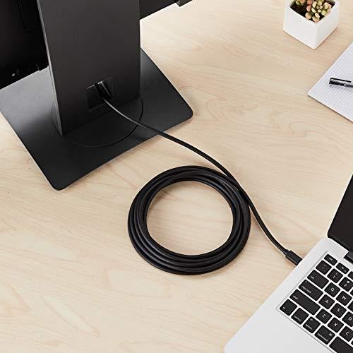 AmazonBasics Mini DisplayPort to HDMI Display Adapter Cable - 15 Feet