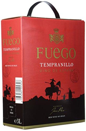 Fuego Tempranillo Rouge Spanien rotwein (1 x 3 l)