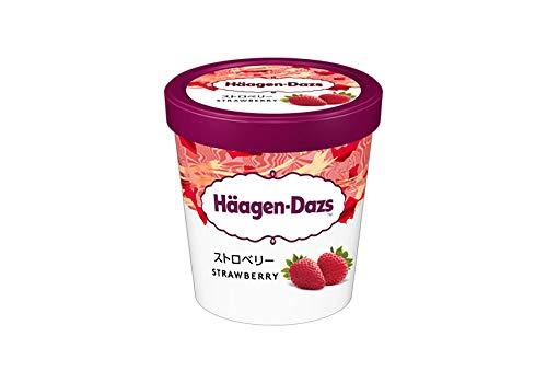 ハーゲンダッツ アイスクリーム パイント ストロベリー 473ml×8個