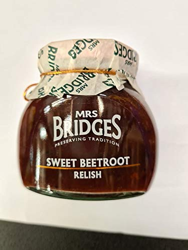Sweet Beetroot Relish 230g treat yourself or gift to someone special. Suitable for Vegan, Vegetarian and Gluten diets