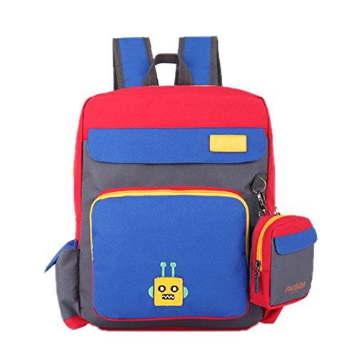 Haute Qualité Enfants Cartable / élèves épaules Sac / Sac à Dos Enfants, Bleu
