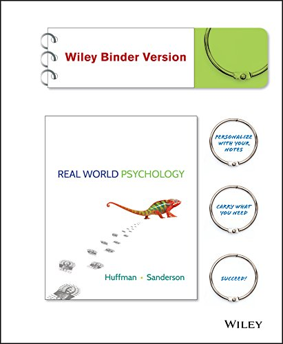Real World Psychology, Binder Ready Version