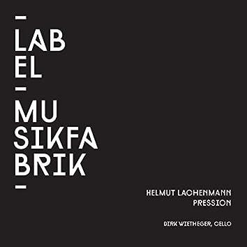 Lachenmann: Pression for a Cellist
