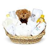 Baby Box Shop - Cesta regalo bebé - con artículos esenciales para niños recién nacidos - ropa de...