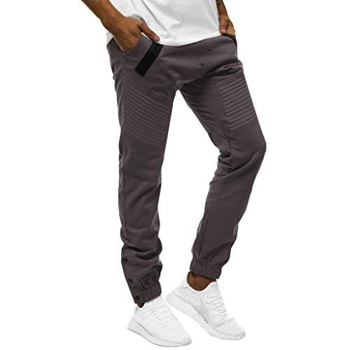 Lomelomme Sporthose Herren Lang mit Tasche Cargo Hose Männer Lang Jeans Hosen für Männer Slim fit Freizeithose Jeanshosen Stretch