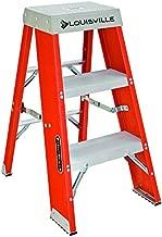 Louisville Ladder FY8003 Step Stand Ladder, 3-Foot