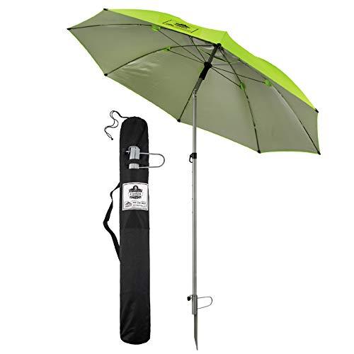 Ergodyne SHAX 6100 Lightweight Industrial Umbrella Lime, 84