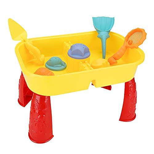 LOPADE Juego de Juguetes de Playa Que Incluye Molde de Playa Molde de Playa Cubo Kit de Herramientas de Pala de Playa Rueda de Agua de Playa Juegos al Aire Libre para niños Right