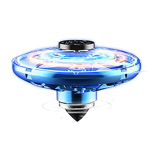 ALTHSITW Flying Fidget Spinners Hand Operated Mini Drone Upgraded UFO Flying Toys With RGB Indoor Outdoor Toys Drones For Kids Adults Stress Reliever Social Cool Toys