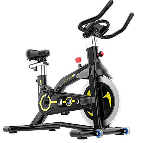 YLJYJ Bicicleta de Ejercicio giratoria, Gimnasio Interior, Oficina, Ciclismo, Ejercicio Cardiovascular estacionario, Entrenamiento aeróbico, Bicicleta, máquina de Carreras, Monitor LCD