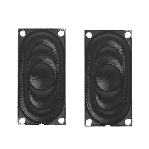 BAIRU - Altavoces de audio mini 2040 8 Ohm 2 W compatibles...