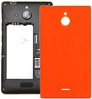 Battery case Jrc Battery Back Cover for Nokia Lumia X2 (Orange) Mobile phone accessories (Color : Orange)
