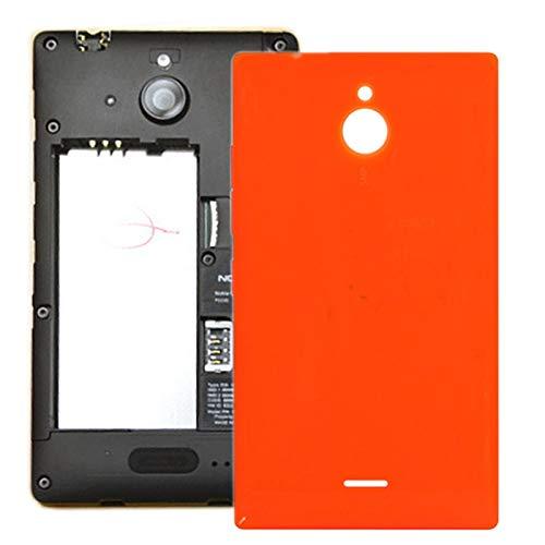 Liluyao Teléfono de Piezas de Repuesto Cubierta Posterior de batería for Nokia Lumia X2 (Color : Naranja)