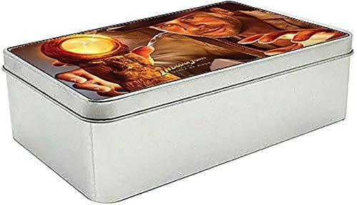 MasTazas Indiana Jones and The Staff of Kings Caja Lata Metal Tin Box