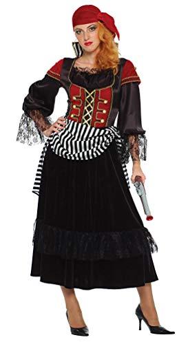 Karneval-Klamotten Zigeunerin Wahrsagerin Kostüm Damen Zigeuner Gipsy Damenkostüm