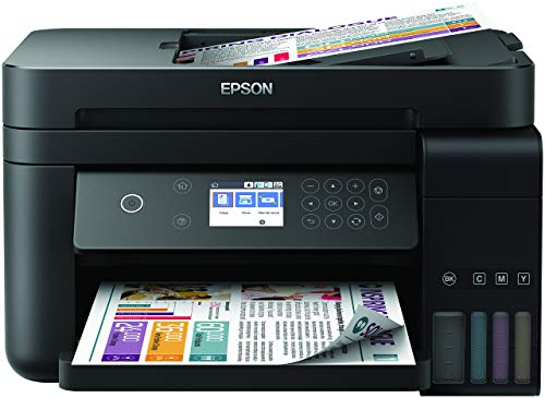 Epson Ecotank 3750 Unlimited, Stampante, Wi-Fi Direct, Ethernet e App di Stampa, Amazon Dash Replenishment Ready
