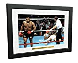 Kitbags & Lockers Mike Tyson vs Michael Spinks '91 Second Knockout' 12x8 A4 Autographed Signed Photo Photograph Picture Frame Boxing Gift